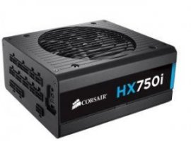 Corsair toiteplokk HX750i 750W, 140mm fan, modular PSU