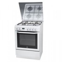 INDESIT Cooking INDESIT I6GMH6AG(W)U 60 cm Gaz/Electric valge