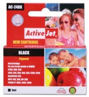 Active Jet Ink ActiveJet AC-24BK | must | 9 ml | Canon BCI-24BK