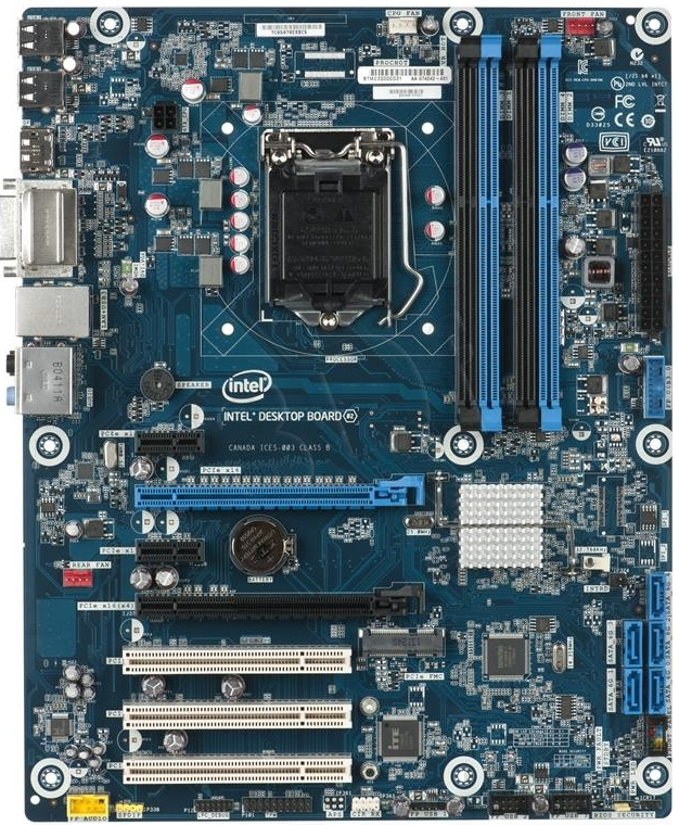Intel DH87MC Desktop Board 64Bit