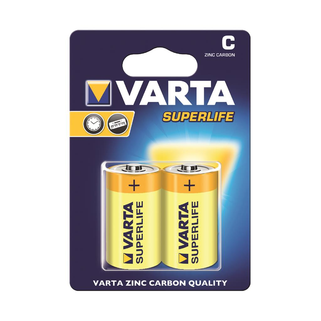 tootekataloog varta zinc batteries r14 typ c 2tk superlife. Black Bedroom Furniture Sets. Home Design Ideas