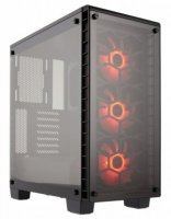 Corsair Crystal seeria 460X RGB Compact ATX Mid-Tower Case