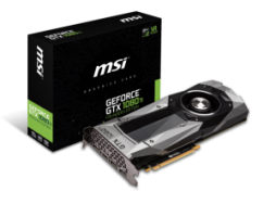 MSI GeForce GTX 1080 Ti Reference / 11GB GDDR5X / Founders Edition (GEFORCEGTX1080TIFOUNDERSEDITION)