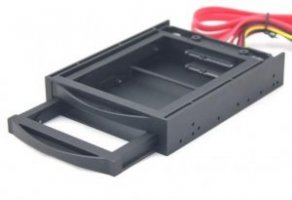GEMBIRD HDD/SSD ACC MOBILE RACK 3.5/2X2.5 MR3-2SATA2.5-01 GEMBIRD