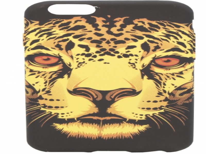 cd12ee2008b Mocco Fashion Case Glow in The Dark Pantera For Apple iPhone 6 / 6S