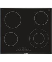 Bosch Hob PKF675FP1E Vitroceramic, Number of burners/cooking zones 4, must, Display