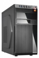 GOLDEN TIGER Case|GOLDEN TIGER|Baltimore 530|MiniTower|MicroATX|Colour Black|BALTIMORE5302USB2