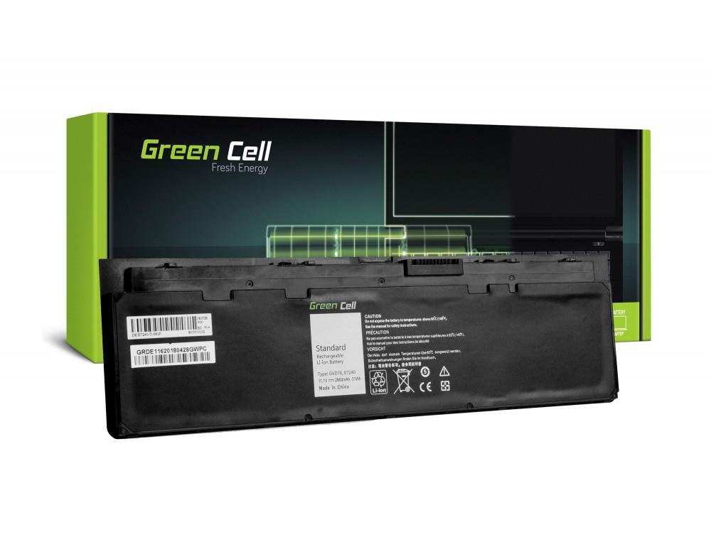 9962f9177cb GREENCELL Bateria roheline Cell WD52H GVD76 do Dell Latitude E7240 E7250  E7450