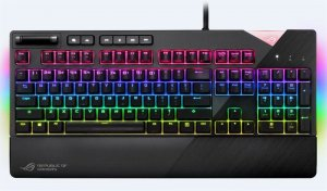 8afb22e7952 Asus ROG Strix Flare Mechanical Cherry MX RGB Red, must,.