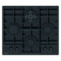 Gorenje Hob GT6D41B Gas on glass, Number of burners/cooking zones 4, must