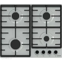 Gorenje Hob G641BX Gas, Number of burners/cooking zones 4, Stainless steel