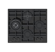 Gorenje Hob  GTW6D41B  Gas on glass, Number of burners/cooking zones 4, Mechanical, must