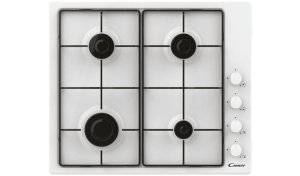 Candy Hob CHW6LWW Gas, Number of burners/cooking zones 4, valge