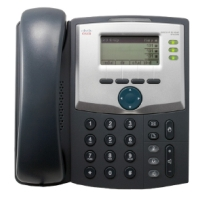 CISCO 3 Line IP telefon koos Display ja PC Port